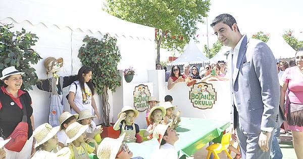 Dünya Çevre Günü Festivali'ne yoğun ilgi