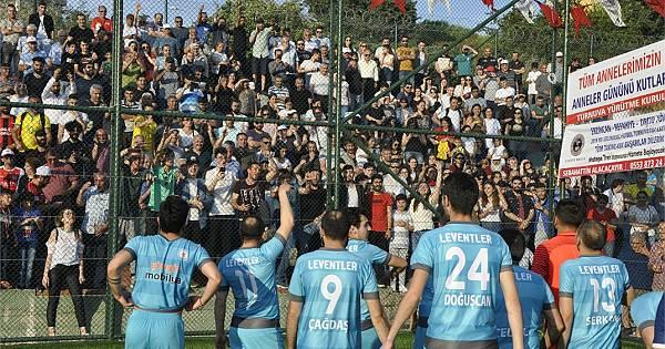 Leventler Köyü şampiyonluğu böyle kutladı (Foto Galeri)