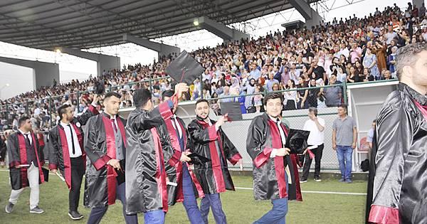 OKÜ'de mezuniyet coşkusu (foto galeri)
