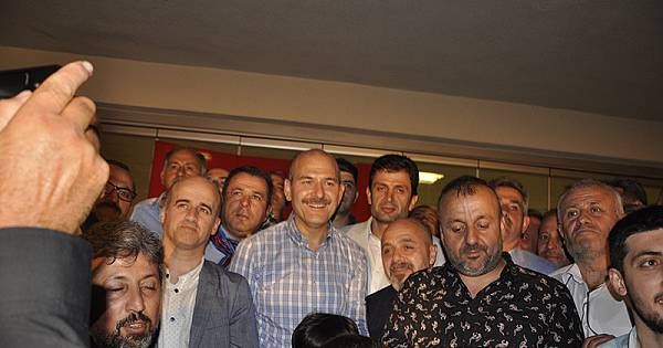 Trabzonlular Bakan Soylu'yu ağırladı