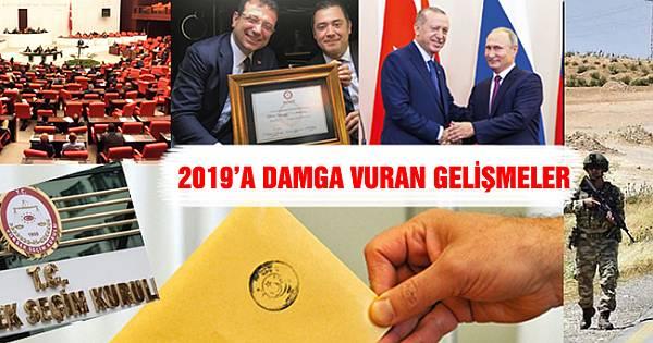 2019 Türkiye'de böyle geçti (FOTO GALERİ)
