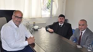MHP Kartal'dan gazetemize ziyaret