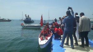 15 Drogon bot sporcusu Kdz. Ereğli'de karşılandı