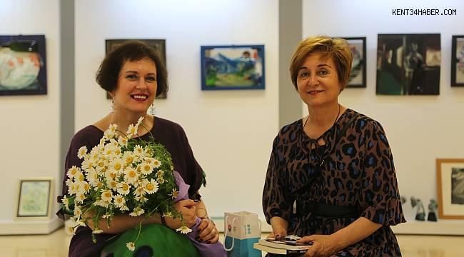 'İki Ve' sergisi Maltepe'de açıldı