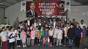 Kartal'da Atatürk anısına satranç turnuvası düzenlendi