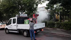 Kartal Belediyesi ilaçlama çalışmalarına devam ediyor