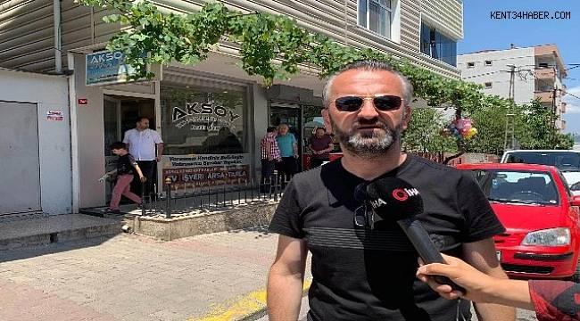 Sultanbeyli'de emlak ofisin kurşunlandı