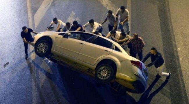 Bayrampaşa'da trafik kazası