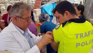Düzce'de selde kaybolan 2 çocuk aranıyor