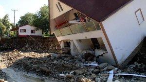 Düzce'de selin bilançosu: 100 bina yıkıldı, 1687 çiftçi zarar gördü