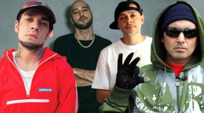 Killa Hakan, Ceza, Ezhel ve Ben Fero'nun klibi trend listesinde birinci oldu
