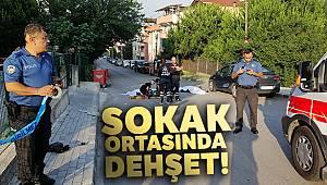 Sokak ortasında önce eski eşini sonra kendisini vurdu