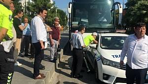 Tur otobüslerine 'park yasağı ihlali' cezası