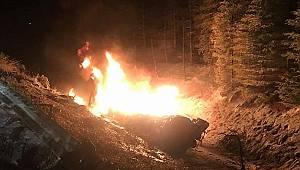 Yakıt tankeri patladı: 1 ölü