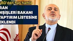 ABD Hazine Bakanlığından, İran Dışişleri Bakanı Zarif'e yaptırım