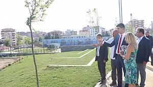 Başkan Yüksel'den Cevizli Meydanı müjdesi