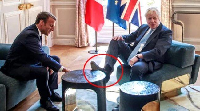 Boris Johnson rahatlığıyla sosyal medyada gündem oldu