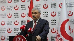 Destici: HDP'nin elinde olan bütün belediyelere kayyum atanmasını tavsiye ediyorum
