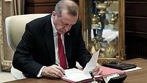 Kritik atamalar, Erdoğan'ın imzasıyla Resmi Gazete'de yayımlandı