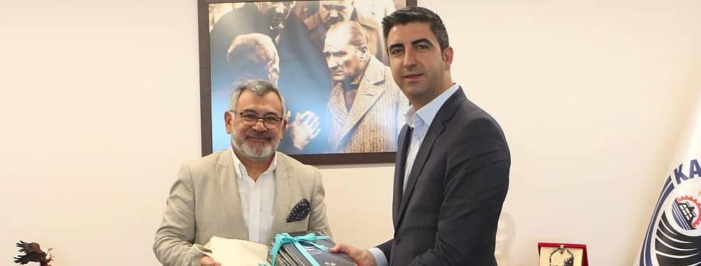 Rektör Peyami Çelikcan'dan Başkan Yüksel'e tebrik ziyareti