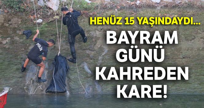 Serinlemek için sulama kanalına giren çocuk boğularak öldü