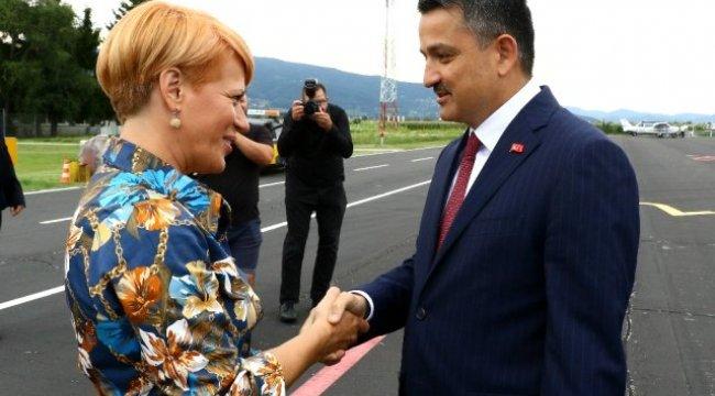 Tarım Bakanı Pakdemirli Slovenya'da