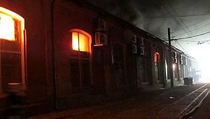 Ukrayna'da otel yangını: 8 ölü, 10 yaralı