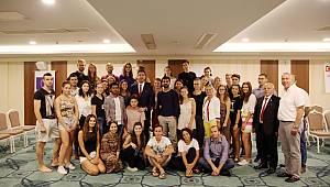 Avrupalı Gençler, Kartal ile ilgili projelerini Başkan Yüksel'e anlattı