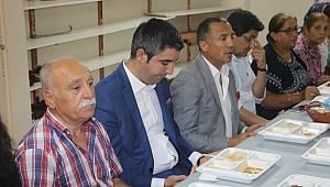 Başkan Yüksel, Uğur Mumcu Cemevi'nde muharrem iftarına katıldı