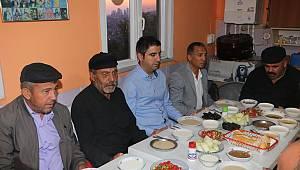Başkan Yüksel, Velibaba Cemevi'nde muharrem iftarına katıldı