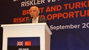 DEİK Türkiye-İngiltere İş Konseyi Başkanı Gür: İngiltere'nin bize ihtiyacı var