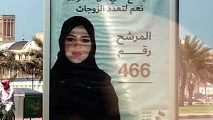 Kadın siyasetçinin 'çok eşlilik' vaatli seçim afişi büyük tepki çekti