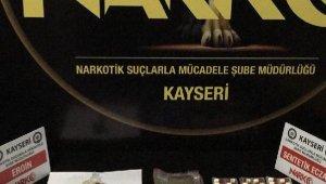 Kayseri'de uyuşturucu operasyonu: 13 gözaltı