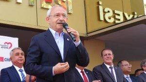 Kılıçdaroğlu: Cumhurbaşkanı tarafsız olmalı, referandum yapalım