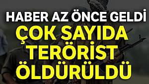 Şırnak'ta terör operasyonu, 9 terörist etkisiz hale getirildi