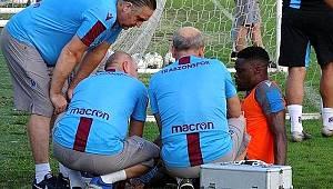 Trabzonspor'da Ekuban şoku! 1,5 ay yok