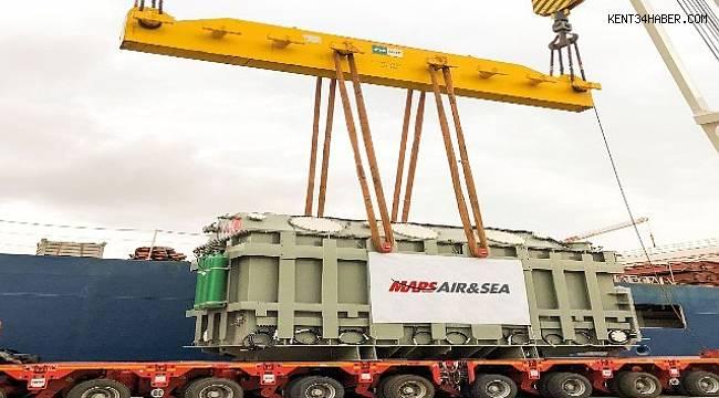 Avrupa'ya 154 tonluk proje taşındı