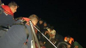 Bodrum ve Marmaris'te 80 kaçak göçmen yakalandı