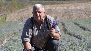 Bulgaristan'dan gelip, Tekirdağ'da ürettikleri lavanta balı büyük ilgi görüyor