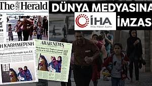 Dünya medyasına İHA imzası