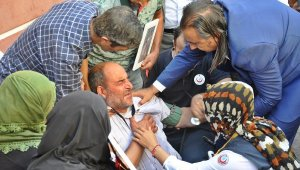 HDP önündeki eylemde 37'nci gün