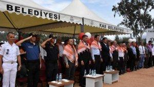 Kaş'ta 'Kapya Biber Festivali'nin ilki düzenlendi
