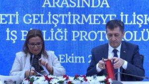 Milli Eğitim ve Ticaret bakanlıkları arasında dış ticaretin geliştirilmesi protokolü