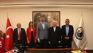 Prof. Dr. Doğan'dan Başkan Yüksel'e ziyaret