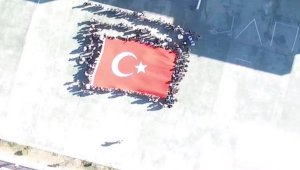 Sivas'ta, öğrencilerden Mehmetçiğe destek