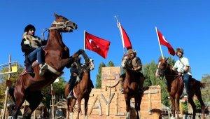 Van'daki Kırgız Türklerinden harekata destek