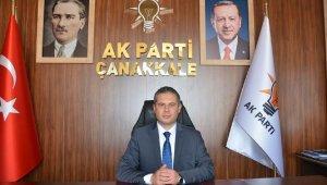 AK Parti Çanakkale İl Başkanı Yıldız, istifa etti