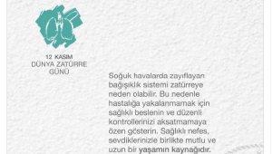 Bakan Koca'dan 'Dünya Zatürre Günü' mesajı