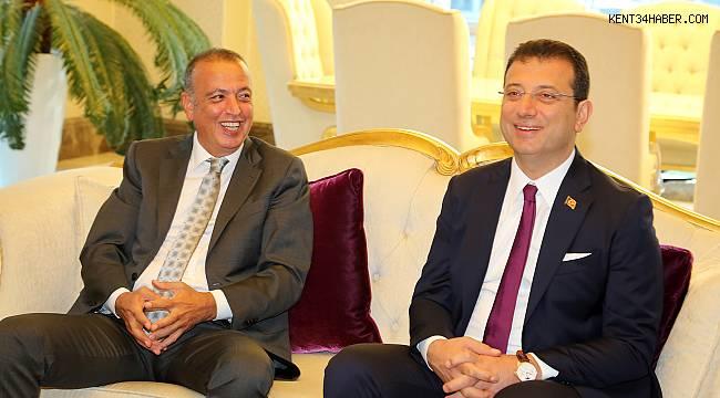 İBB Başkanı Ekrem İmamoğlu Ataşehir'de
