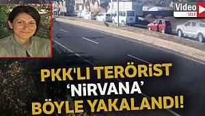'Nirvana' kod adlı PKK'lı teröristin yakalanma anının görüntüleri ortaya çıktı